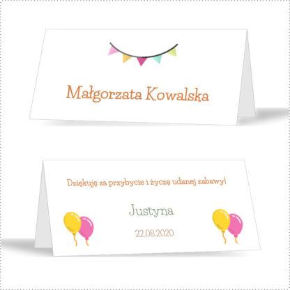 Kolorowe winietki na urodziny [Projekt 1]